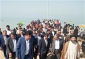 بوشهر| زیرساختهای شهر توریستی دیلم توسعه مییابد