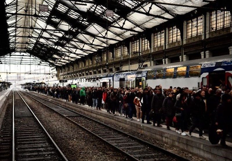French Public Sector, Rail Workers Go On Strike