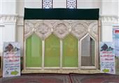 شیراز| ضریح مطهر خیمهگاه امام سجاد(ع) ویژه بازدید و زیارت مسافران نوروزی آماده شد
