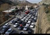 تازهترین وضعیت ترافیکی جادههای کشور در سومین روز فروردین