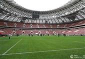 نخستین تمرین برزیلیها در ورزشگاه فینال جام جهانی 2018 روسیه + تصاویر