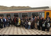 اراک| راهاندازی قطار گردشگری در استان مرکزی به روایت تصویر