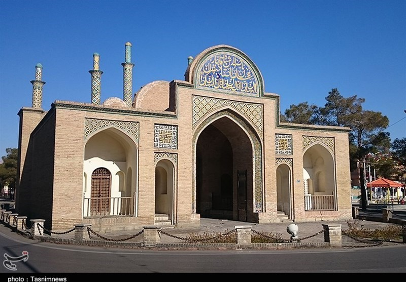 Arg Gate in Semnan: A Tourist Attraction of Iran