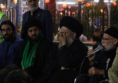شب چهارم محفل بهار علوی در حرم حسینی+ فیلم و تصاویر