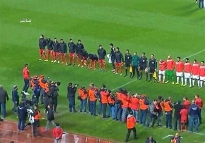 تساوی تونس و ایران در پایان نیمه  اول
