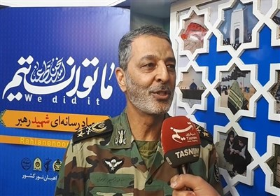 Iran Army Chief Highlights Popular Support for Sacred Defense Goals