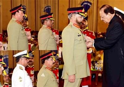 صدر پاکستان کی جانب سے مختلف شعبوں میں شاندار کارکردگی کا مظاہرہ کرنیوالی شخصیات کو اعزازات