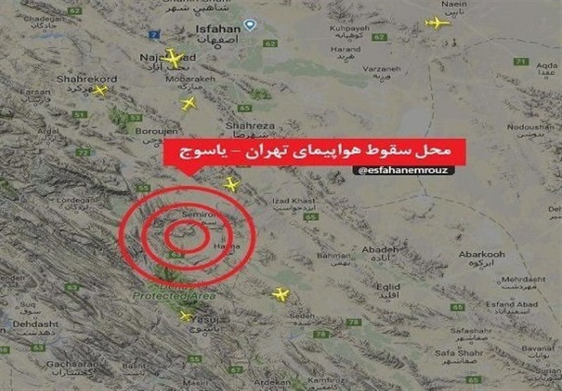 قرائت گزارش علل سقوط هواپیمای تهران ــ یاسوج در مجلس+ متن کامل