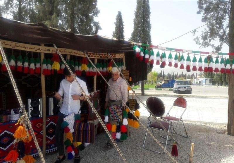 شیراز  نوروز در شیراز با جشنواره اقوام ایرانی؛ سیاهچادرها چشمانتظار گردشگران + تصاویر