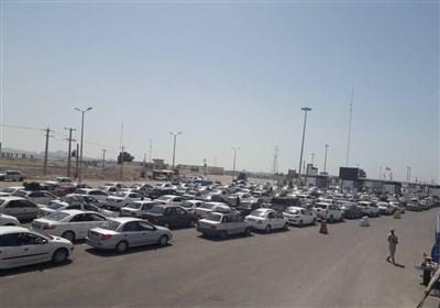 ورود 70 هزار خودرو به جزیره قشم تحت رویه کران بری+تصاویر