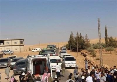 "آغاز خروج عناصر مسلح از ""عربین"" به سمت ادلب"