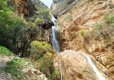 Nojian: One of the Highest Waterfalls in Iran
