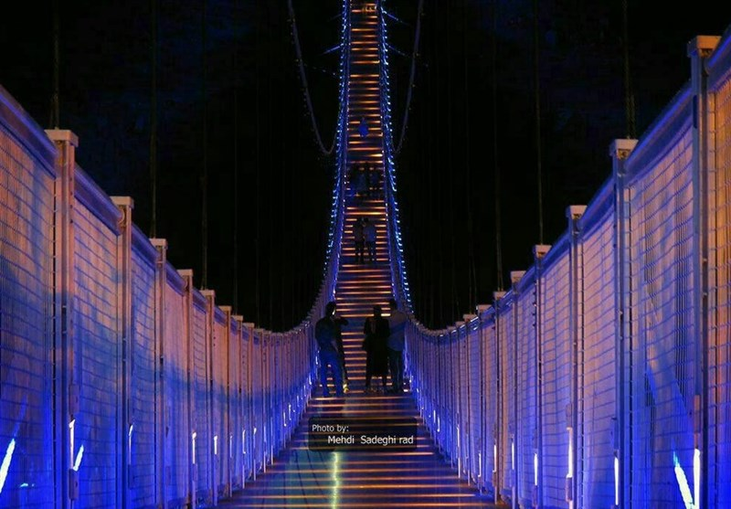 اردبیل| پل معلق مشگینشهر نگین گردشگری اردبیل