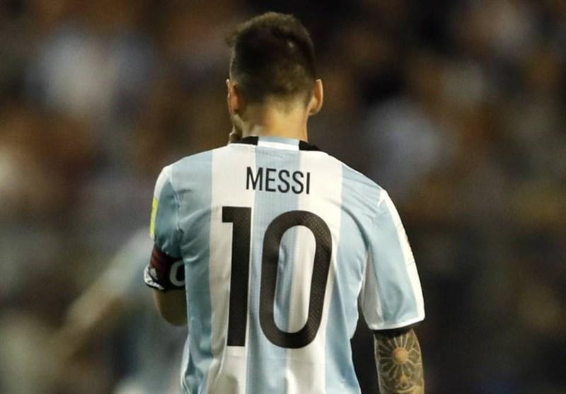 مسی بازی آرژانتین - اسپانیا را هم از دست داد