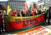 شهرهای اروپا عرصه تظاهرات علیه تهاجم ترکیه به عفرین