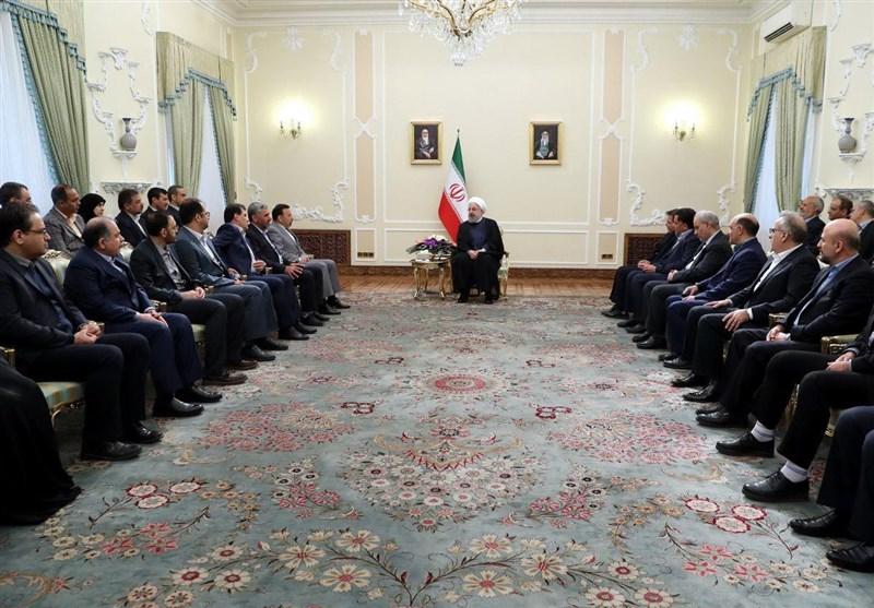 روحانی: آمریکا در ۱۴ ماه گذشته تلاش زیادی برای ازبینبردن برجام انجام داد