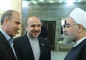 روحانی: امیدوارم مانند فوتبال سایر رشتهها هم 5 ستاره شوند/ سلطانیفر: سال 97 سال پُررویدادی برای ورزش ایران است