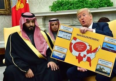 کاریکاتور روز| ترامپ و سریال دنباله دار دوشیدن حکومت سعودی