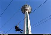 پایش و کنترل دائمی سازه برج میلاد منطبق با متدهای جهانی