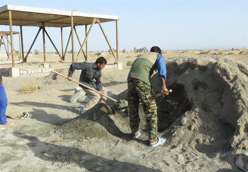 شهرکرد| اردوهای جهادی استوار بر پایه سازندگی; از خودسازی تا سازندگی مناطق محروم