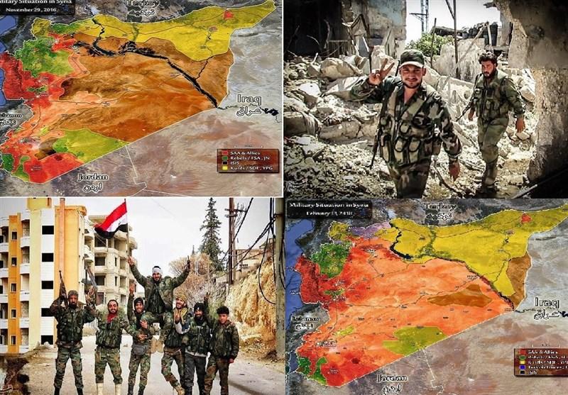 سبع سنوات على الأزمة السوریة.. کیف تغیّرت خارطة السیطرة من البدایة إلى النهایة؟ +إحصائیات وخرائط