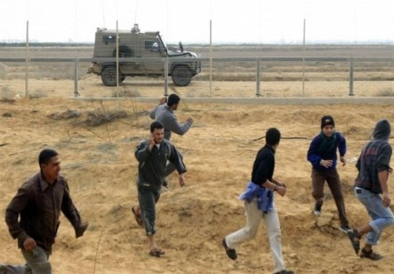 Siyonist İşgal Güçleri Gazze Sınırındaki Gösterilere Müdahale Etti