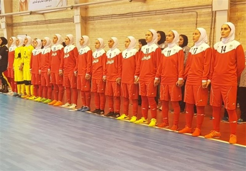 Iranian Women Beat Ukraine Women Futsal Team