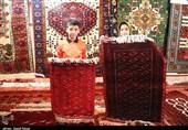 بجنورد| بازارچه سوغات و صنایع دستی خراسان شمالی به روایت تصویر