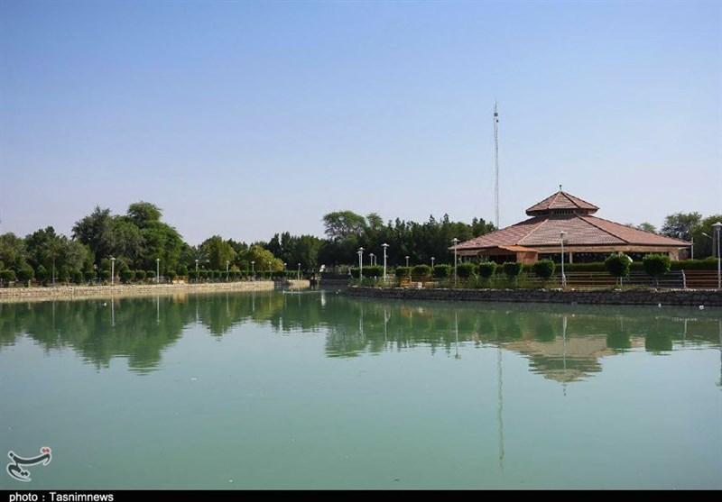 أکبر متنزه فی محافظة خوزستان+صور