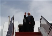 روحانی یغادر طهران متوجهاً إلى نیویورک