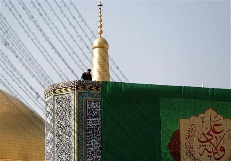 مشهد| آمادهسازی حرم مطهر امام رضا(ع) در آستانه میلاد امیرالمومنین(ع)+تصاویر