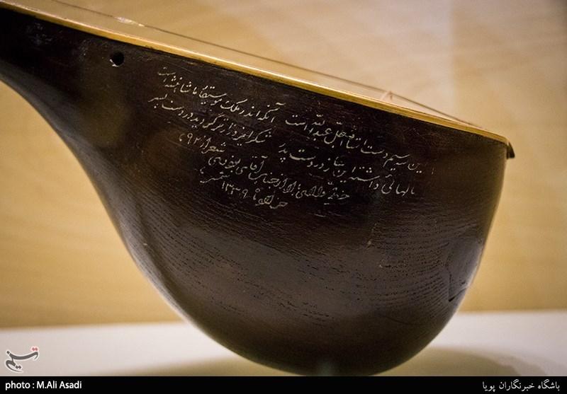 موزه موسیقی و سه تار عبادی که منصوب به ناصرالدین شاه است + عکس