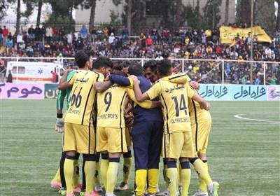 لیگ دسته اول فوتبال|فجر از شکست خونه به خونه استفاده کرد و به رتبه دوم جدول رسید + نتایج کامل هفته