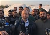 فلسطین|دیدار سفیر قطر با هنیه/الحیه: ملت فلسطین همه را غافلگیر خواهد کرد