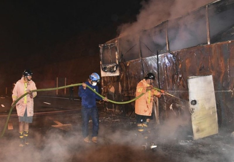 Fire on Bus in Thailand Kills 20 Migrant Factory Workers