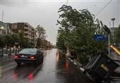 """""""طوفان با سرعت 80 کیلومتر تهران"""" هم هواشناسی را از خواب بیدار نکرد"""