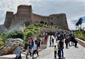 لرستان| توقف استحکامبخشی قلعه فلک الافلاک به این بنای جهانی آسیب میزند