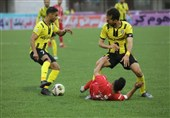لیگ برتر فوتبال|تساوی یک نیمهای پارس جنوبی و فولاد خوزستان