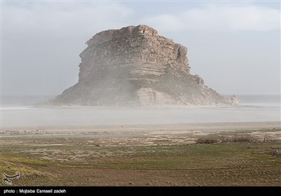 طوفان های نمک دریاچه ارومیه