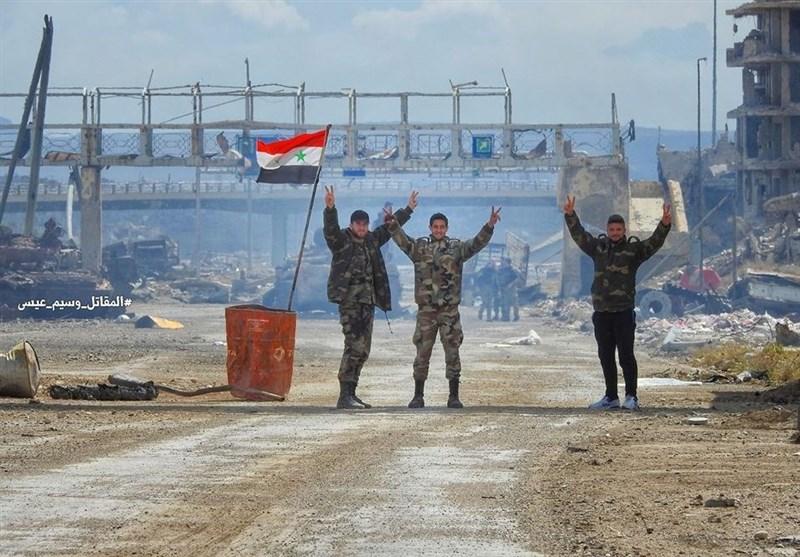 تحولات سوریه|پیشروی گسترده ارتش در «دوما»؛ استحکامات «جیشالاسلام» منهدم شد