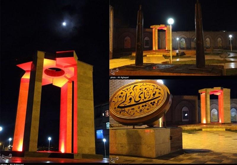 خوی| مقبره پوریای ولی شاعر و پهلوان نامدار ایرانی+تصاویر