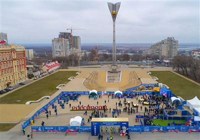 افتتاح پارک فوتبال جام جهانی 2018 در روستوف