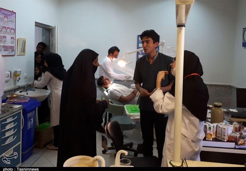 برپایی اردوی جهادی 150 دانشجوی دانشگاه علوم پزشکی تهران در مناطق محروم گنبدکاووس