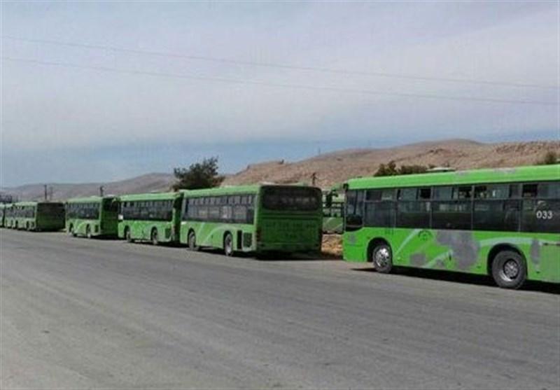 خروج صدها تروریست از «دوما» در غوطه شرقی دمشق