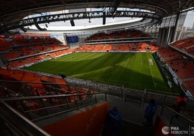 نخستین تست ورزشگاه جام جهانی 2018 با بازی آزمون و یارانش