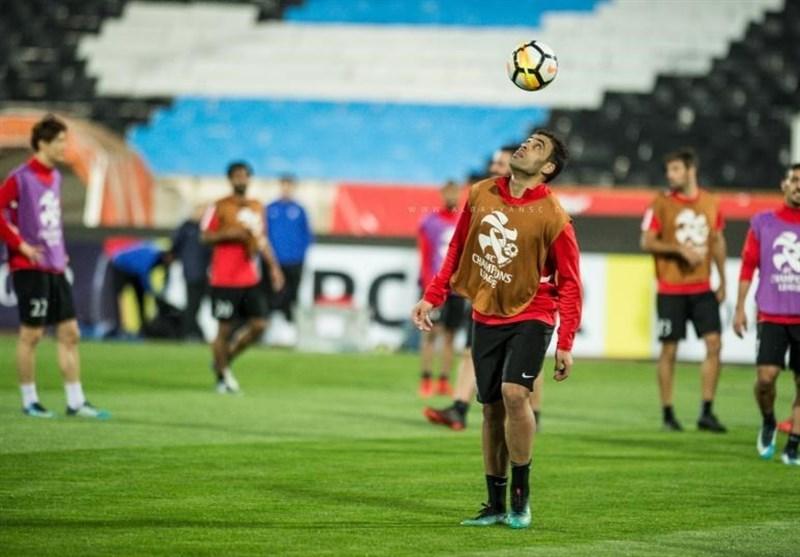 اسم زیبا برای تیم فوتبال اولین تمرین تیم ملی در کشور تونس برای رویارویی با تیم ملی تونس.