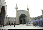 مشهد حرم منور رضوی به استقبال ماه مبارک رمضان میرود