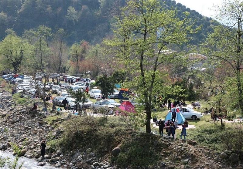 رشت| حال و هوای روز طبیعت در گیلان به روایت تصویر