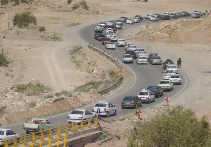 کرج| ترافیک در محورهای مواصلاتی استان البرز سنگین است