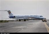1500 زائر از فرودگاه کرمانشاه عازم سرزمین وحی میشوند